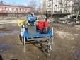 МГБУ ИНФ-100 на прицепе