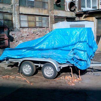 МГБУ 380V 4кВт на прицепе