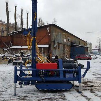 МГБУ ИНФ-100 УРБ 2А2 на гусеницах