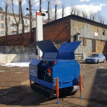 МГБУ ИНФ-100 на гусеницах