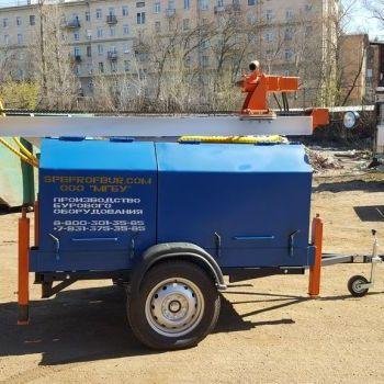 МГБУ ИНФ-80 на прицепе